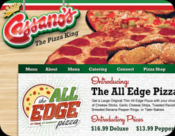 Cassanos All Edge Ad