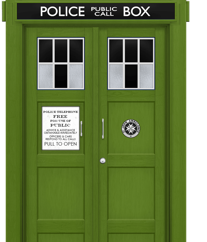 Photo: April's TARDIS